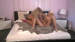 Angel is in bed with Lena who loves the taste of pussy