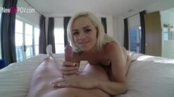 The sexy Elsa Jean Fucking on a POV movie!